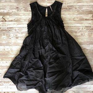 Free People Black A-Line Dress